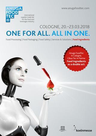 Secril Présent à l'ANUGA de Cologne en 2018